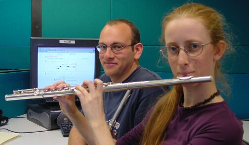 The virtual flute: credits