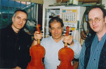 the violins and the trio